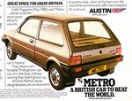 My First Car: Austin Metro