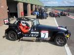 Racing with Caterham: part one