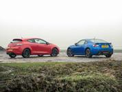 Megane 265 Cup and Subaru BRZ: Fast vs Fun