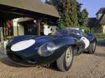 Jaguar D-Type: not the usual ride-along