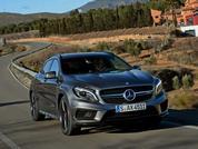 Mercedes GLA45 AMG: Driven