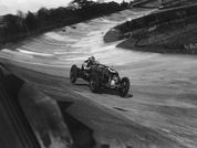 Birkin's Bentley on Brooklands banking: POTW
