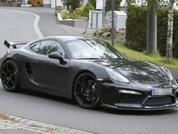 Porsche Cayman R spied
