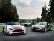 Aston V8s at the Nurburgring: Pic of the Week