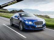 Bentley Continental GT Speed... at speed