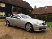 Mercedes CL600: Spotted