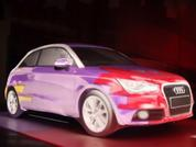 Audi A1 projection mapping: Time For Tea?