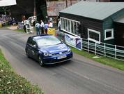 Hillclimb school in a Golf R