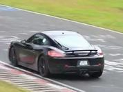 Four-cylinder Cayman at the Nurburgring