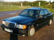 Mercedes 190E 2.3-16: Spotted