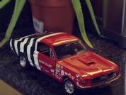 Stop motion miniature Mustangs: Time For Tea?
