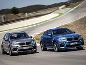 Facelifted BMW X5 and X6 M