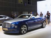 LA debut for Bentley Grand Convertible