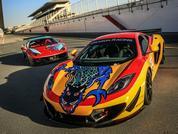 PH in Dubai - Ferrari vs McLaren