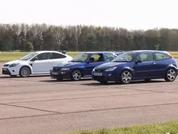 Escort RS v Focus RS v Focus RS: Time For Tea?