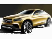 Mercedes GLC Coupe 'design study sketch'