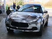 Maserati Levante out testing