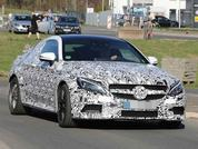 Mercedes-AMG C63 Coupe spied