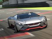 Peugeot reveals Vision Gran Turismo concept
