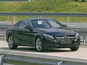 Mercedes C-Class Coupe spy shots