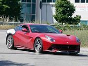 Ferrari F12 M spied testing