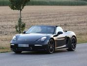 Four-cylinder Boxster spied?